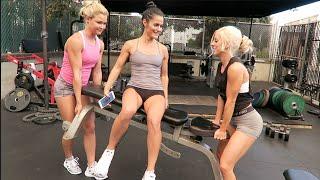 GET OFF MY BENCH | Sophia Thiel, Jessica Arevalo & Bradley Martyn