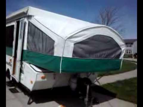clean pop up c&er & clean pop up camper - YouTube