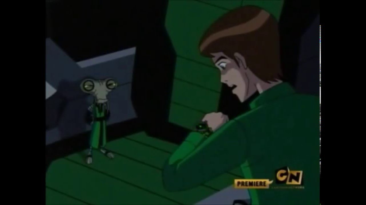 Ben 10 Alien Force - Azmuth gives Ben Master Control of the Omnitrix