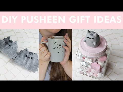 Diy pusheen gift ideas ldp youtube for Room decor gifts