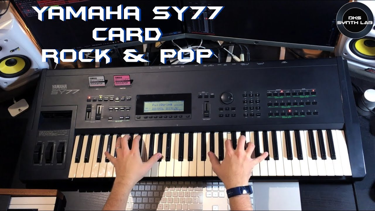 Yamaha SY77 Rock & Pop Card