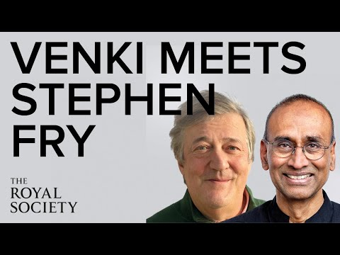 An evening with Stephen Fry and Venki Ramakrishnan | The Royal Society