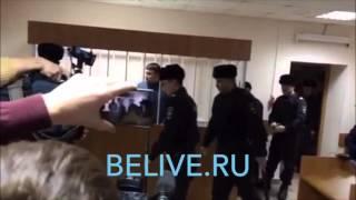 Зелендинов -  Белгородский врач, боксер, в зале суда 12.01.2016