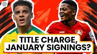 Man United's January Transfer Window Wishlist! | Stretford Paddock LIVE