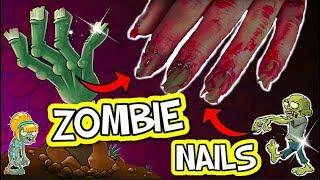 DIY HORROR ZOMBIE NAILS! DIY sfx Halloween Kostüm Zombie DIY I PatDIY