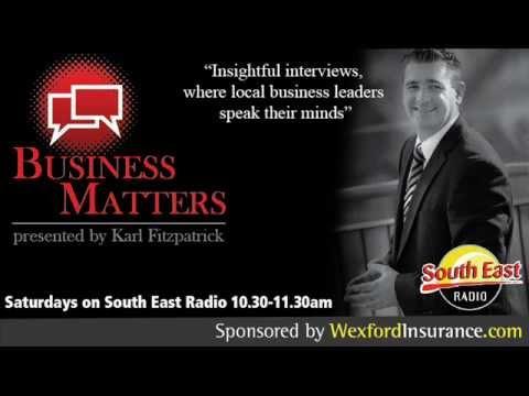 Karl Fitzpatrick interviews Bill Kelly from Kelly's Resort Hotel Rosslare