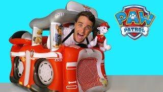 Paw Patrol Fire Truck Playland ! || Toy Review || Konas2002