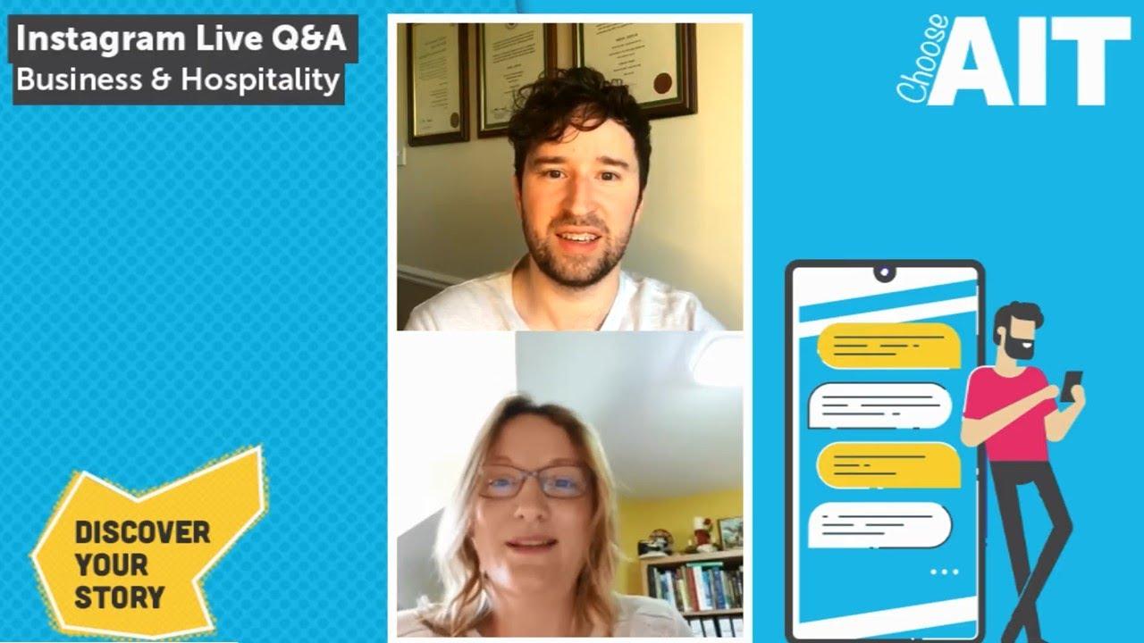 Instagram Live Q&A | Business & Hospitality
