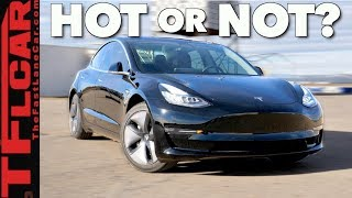 Does The New Tesla Model 3 Dual Motor Set a TFL Track Record? Hot or Not Review
