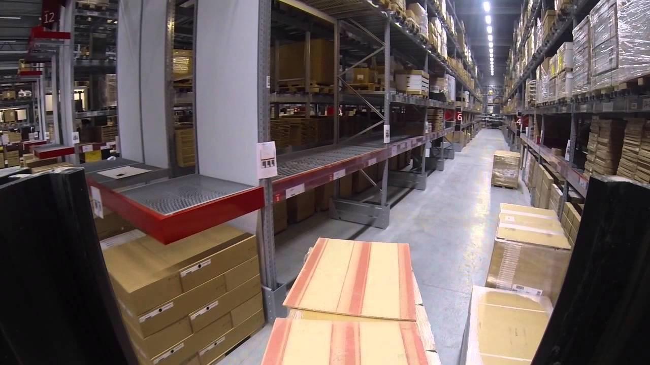 IKEA Ringsaker buildup - YouTube