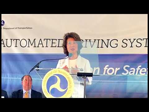 Elaine Chao: Autonomous Vehicles and MCity