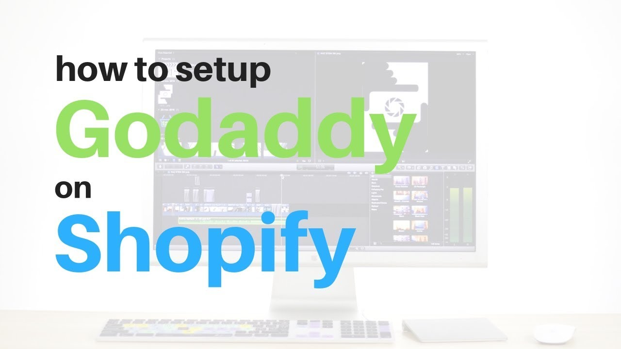 How to Setup Godaddy Domain Name on Shopify Account | A Quick Tutorial