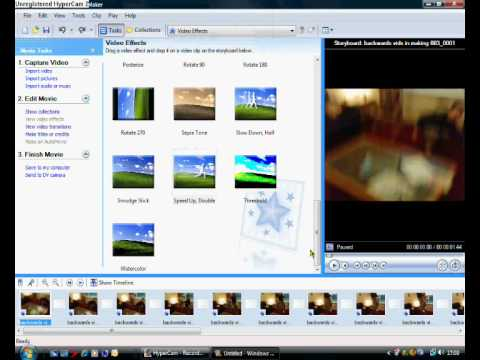 How To Make Backwards Vid Using ONLY Windows Movie Maker