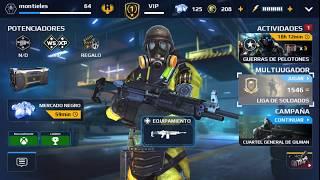 gameplay para usar la torreta en modern combat 5 pc