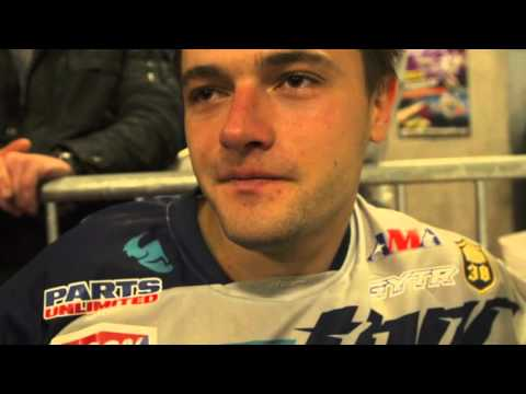 Racer X Films Bercy-Lille Stewart Webb and Peick Post-race Interviews