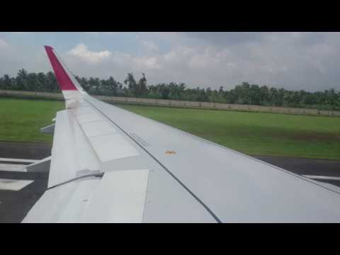 Air India A320 (NEO) Cochin to Sharjah Take-Off - Epic!!!!