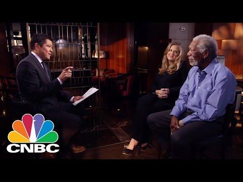 Who Morgan Freeman Thinks Should Narrate His Life | BINGE | CNBC