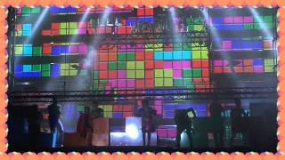 Orquesta PANORAMA- game tour 2015- presentación fiestas Padrón