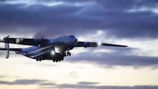 Antonov An-22 Engine start & takeoff
