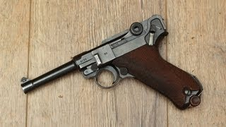 Luger P08 accuracy and penetration tests