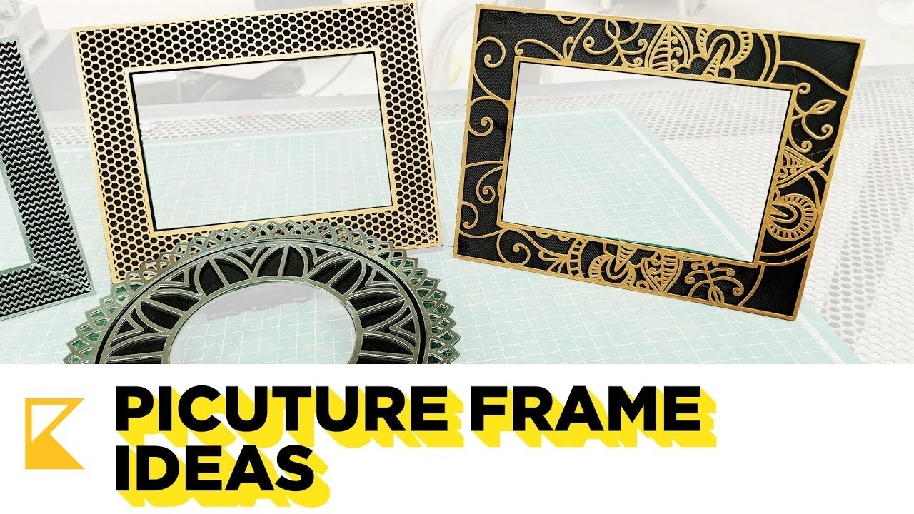 Picture Frames Ideas - 3D Printing - YouTube