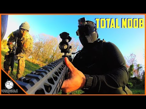 How NOT To Play Airsoft | Noob's First Game | Gunny's Warfar