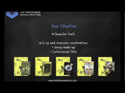 Total Language Plus Instructional Videos: Choosing a Novel Study