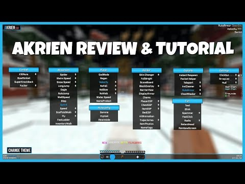 Der NEUE BESTE FREE Minecraft Hack Client? - Akrien Review & Tutorial