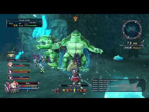 Cyberdimension Neptunia:4 Goddesses Online Cavern Crush 2 |