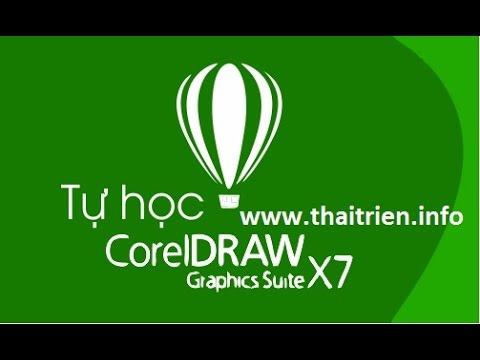 [Tự họa CorelDraw X7] – Bài 1. Giới thiệu phần mềm thiết kế CorelDraw