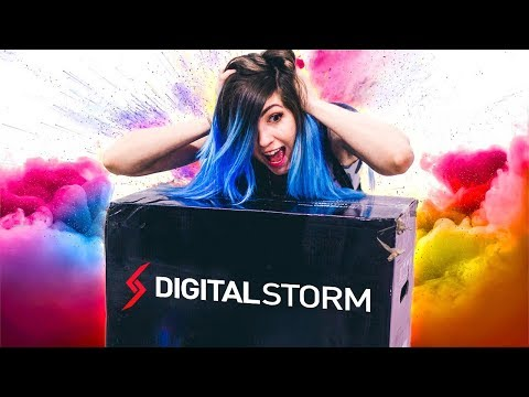 WHAT'S INSIDE THIS BOX WILL CHANGE OUR LIFE!! - Digital Storm Custom Gaming PC (Unboxing and Review)