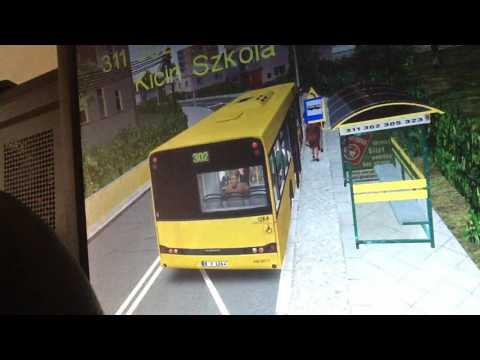 Let's Play OMSI 2 Bus: 302 Solaris Urbino Start: Potasze & Sobieskiego to End: Pitorasowo |