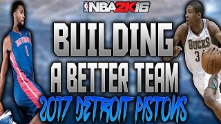 BUILDING A BETTER TEAM VS KRISPYFLAKES!!!! NBA 2K16 REBUILDING MY LEAGUE!