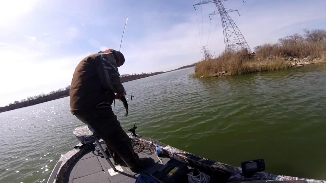 Fishing braidwood illinois 3 12 2017 youtube for Illinois fishing regulations 2017
