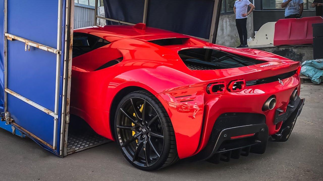 КУПИЛИ ГИПЕРКАР В МОСКВЕ за 53 МЛН! 1000 л.с. в стоке! Распаковка Ferrari SF90 STRADALE +тюнинг-план