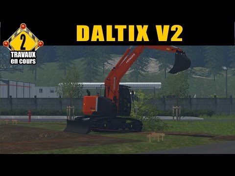 Farming Simulator 15 / Pack VRD by  FT Modding /   EP 2 /TRAVAUX PUBLIC