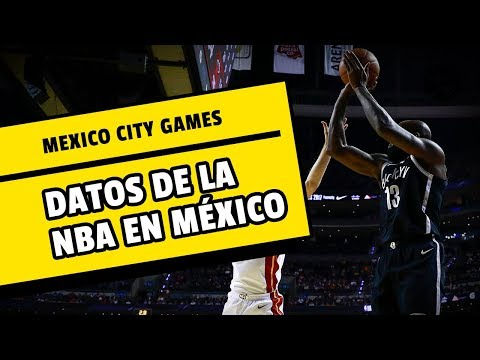 La NBA regresa a la Ciudad de México en datos | Especial I Los Pleyers