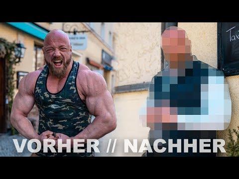 komplettes Männer UMSTYLING #3 Bodybuilder Johannes Luckas 135kg