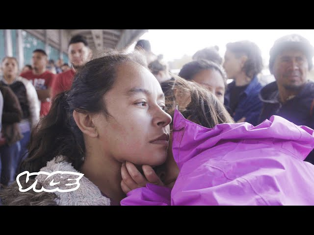 Crisis Inside the Border's Largest Refugee Tent City
