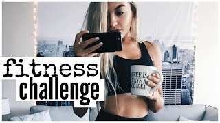 One Week Fitness Challenge | How To Start A New Routine
