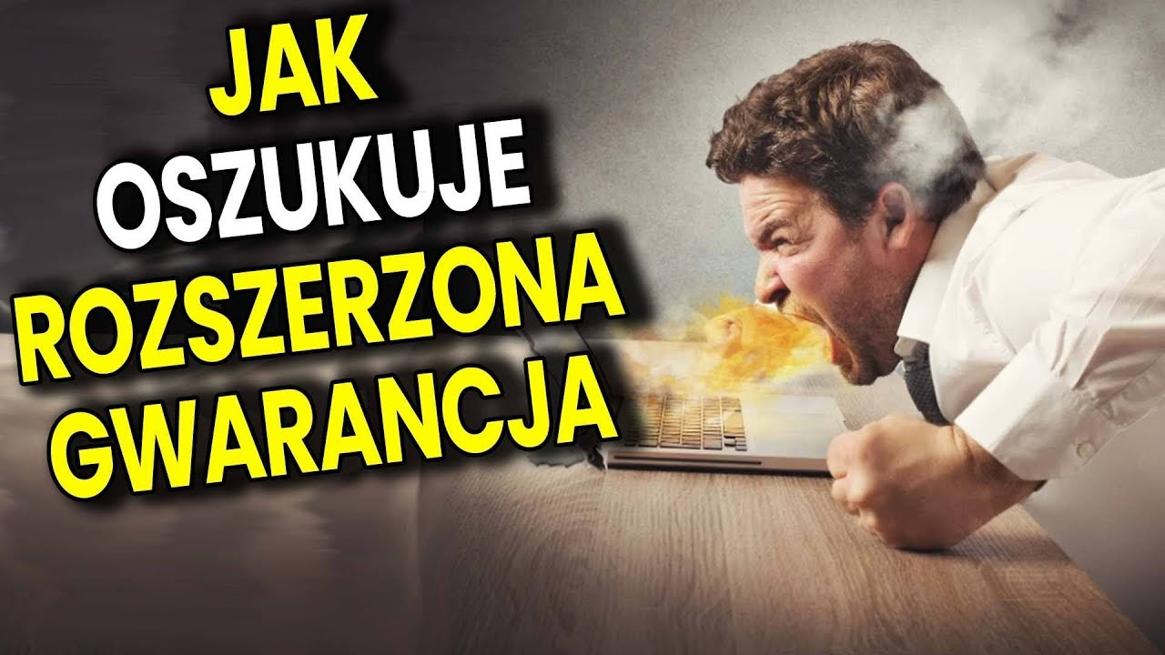 Jak Sklepy i Elektro Markety Doją Naiwnych - Rozszerzona Gwarancja - Analiza Komentator Pieniądze PL