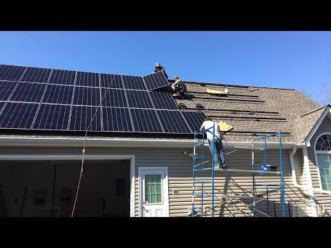 14/12 solar roof install
