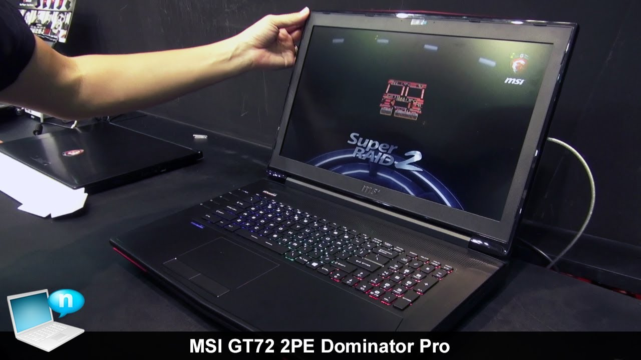 MSI GT72 2PC Dominator Radio Switch Drivers for Mac
