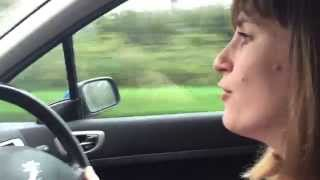 Boo Radleys - Wake Up Boo! Crappy car karaoke version