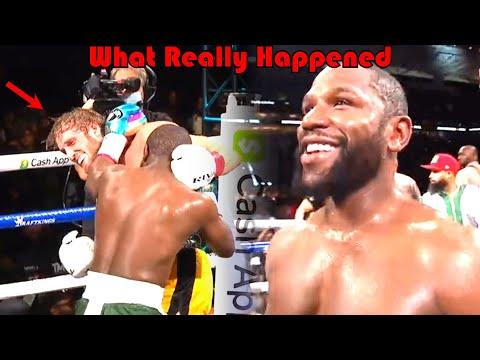 What was that...? (Floyd Mayweather vs Logan Paul)
