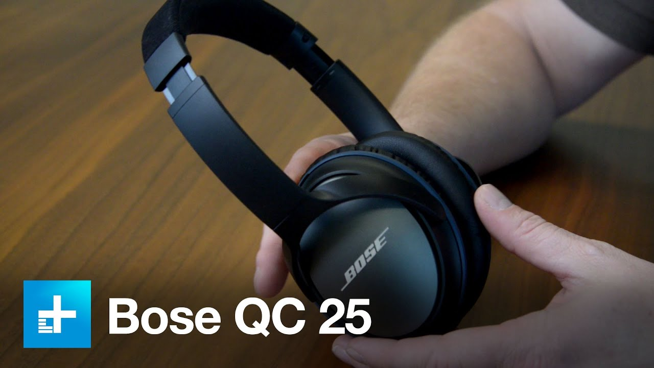 Bose QC25 Noise Canceling Headphones - Hands On