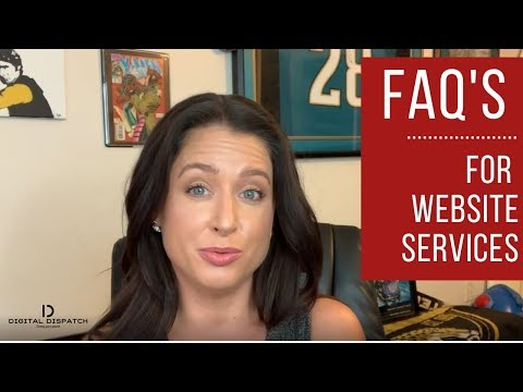 Website Services: Our Most Frequently Asked Questions