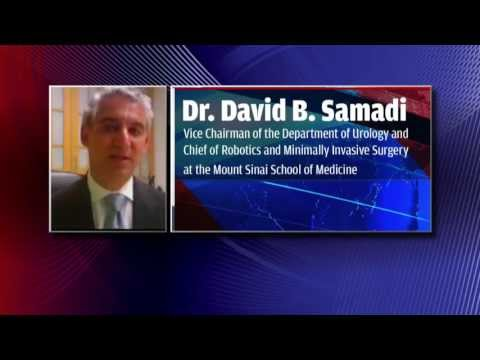 Dr. David B. Samadi, Vice Chairman of the Department of Urology and Chief of Robotics and Minimally