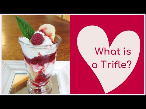 Dessert for Two - Raspberry Trifle for Valentine's Day