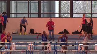 60m Haies – Série 3 – TCM – Championnat Regionaux 21/01/2018 – Eaubonne